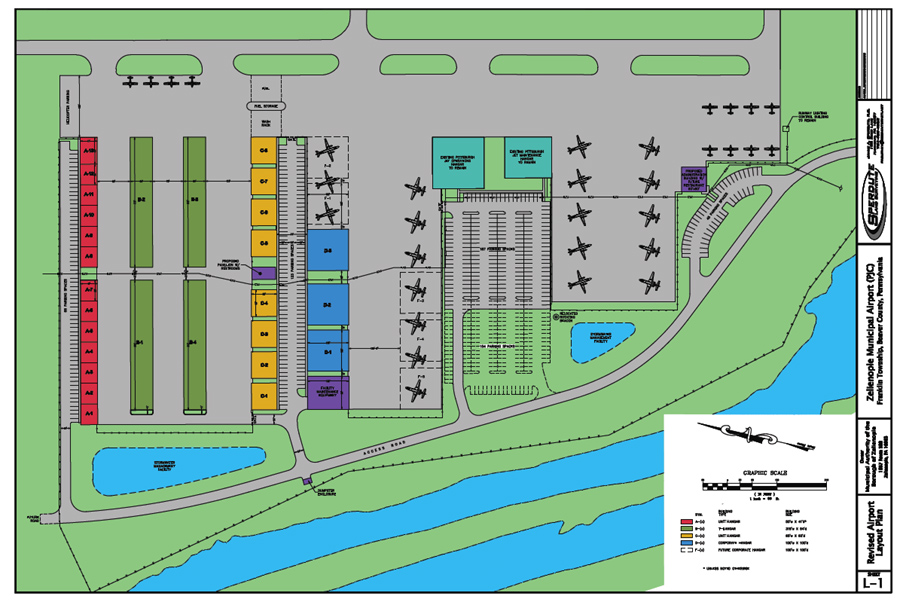 Airpark and Commercial Areas of the Airport Expansion